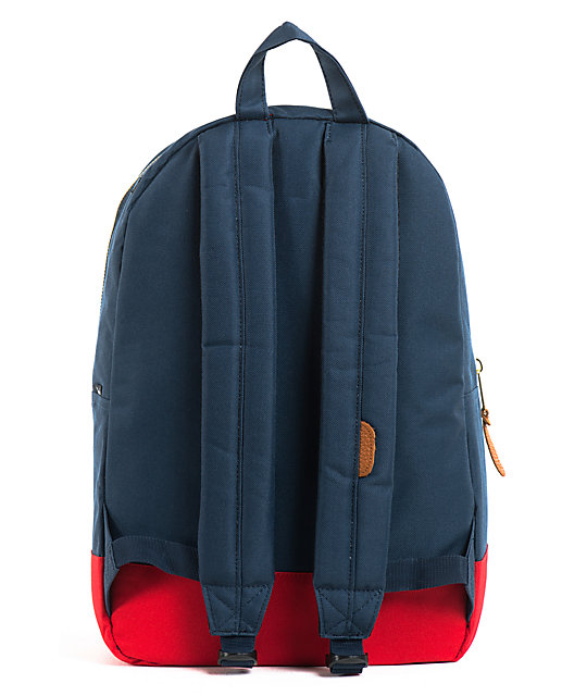 Herschel Supply Co. Settlement Navy & Red Backpack