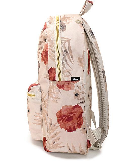 39d317101de Settlement Pelican Floral Khaki 17L Backpack  Herschel Supply Co. Settlement  Pelican Floral Khaki 17L Backpack ...