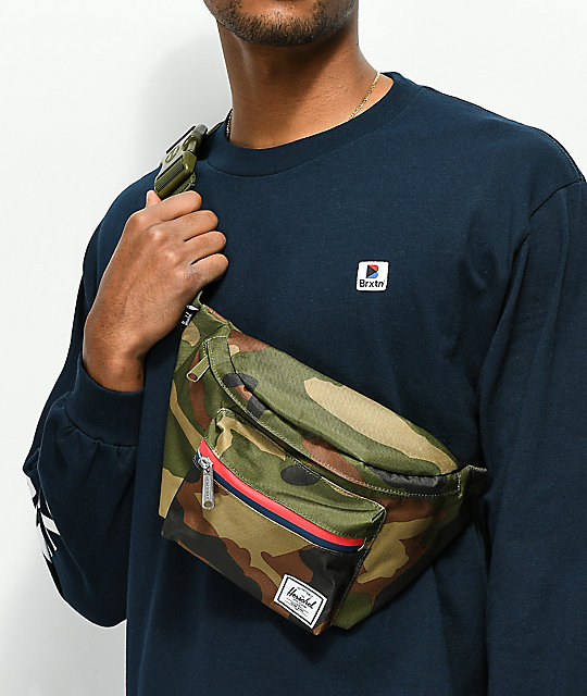Herschel Supply Co. Seventeen Camo Hip Sack Fanny Pack