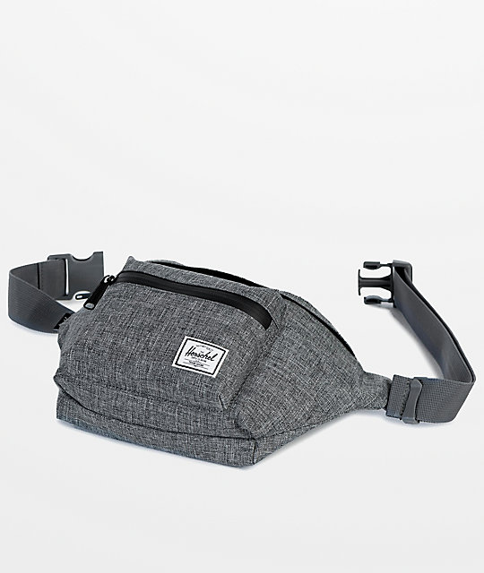 Herschel Supply Co. Seventeen Raven Crosshatch Fanny Pack
