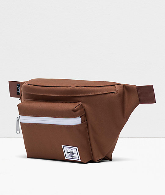 Herschel Supply Co. Seventeen Saddle Brown Fanny Pack