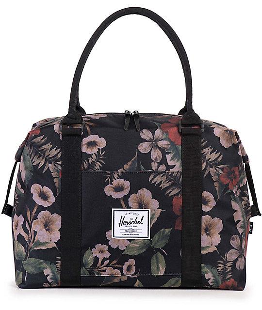 Herschel Supply Co. Strand Black   Hawaiian Camo 28.5L Duffle Bag ... 9c8be16815d72