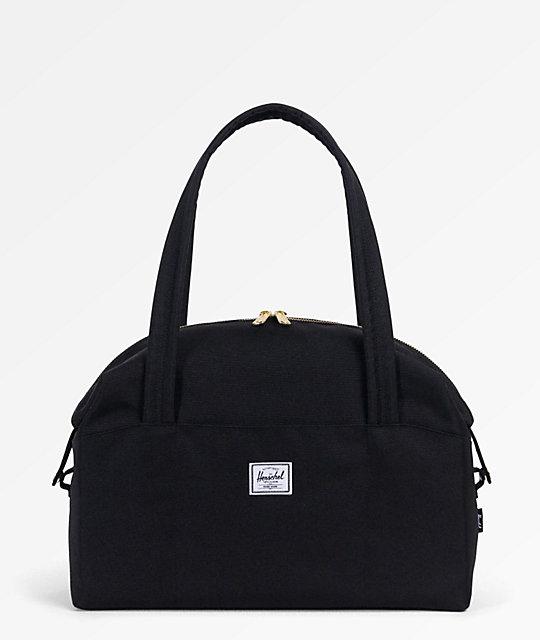 ... reputable site d5621 e69a5 Herschel Supply Co. Strand Black 11L Mini Duffle  Bag . ... e6110f7d50