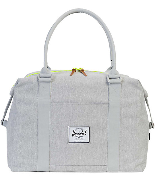Herschel Supply Co. Strand Light Grey Crosshatch 28L Duffle Bag ... 2c516d0f11916