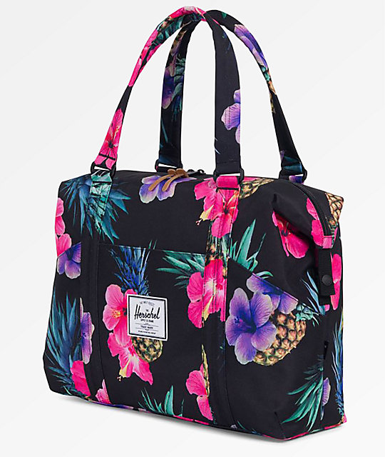 Herschel Supply Co. Strand XS Black Pineapple 12.5L bolso de viaje