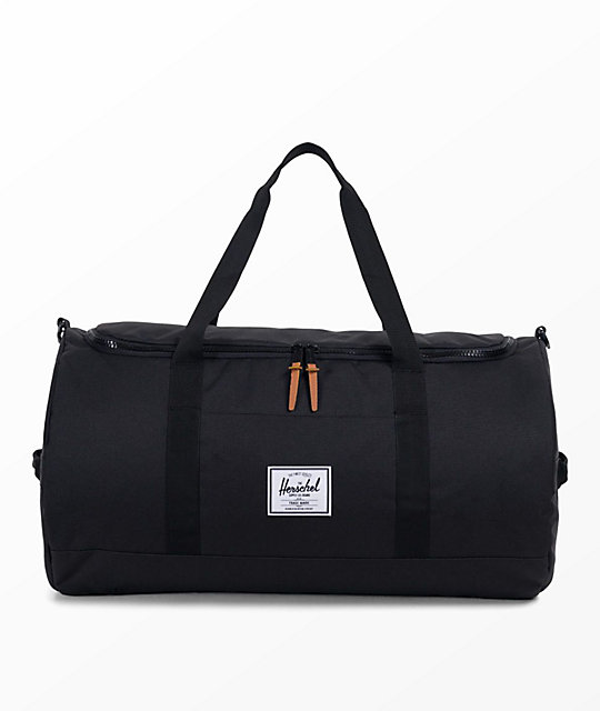 Herschel Supply Co. Sutton 46.5L bolso de viaje en negro