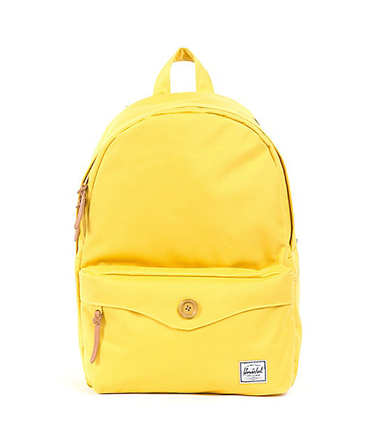 Herschel Supply Co. Sydney Beeswax Yellow Backpack