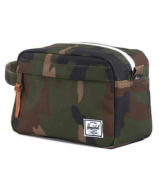Herschel Supply Co Token Woodland Camo Travel Bag