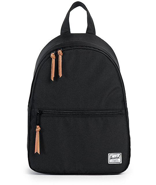 ff7be1df04b Herschel Supply Co. Town Black Mini Backpack