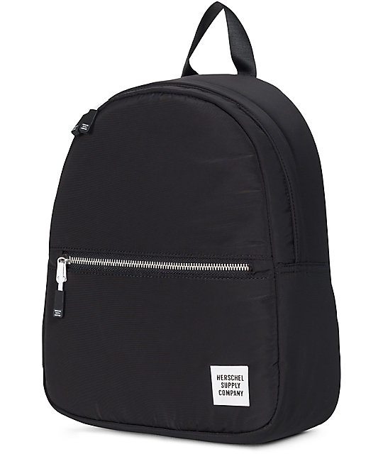 6b13049cebc Town Womens Black Ripstop 9L Backpack  Herschel Supply Co. Town Womens  Black Ripstop 9L Backpack ...