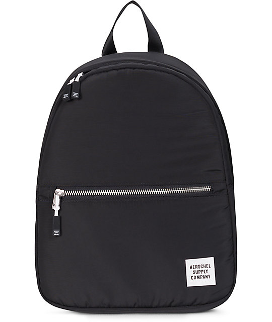 cd5811655af Herschel Supply Co. Town Womens Black Ripstop 9L Backpack