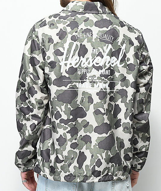 Herschel Supply Co. Voyage Frog Camo Coaches Jacket