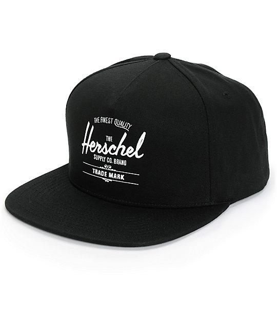 Herschel Supply Co. Whaler Snapback Hat   Zumiez e46fe09503