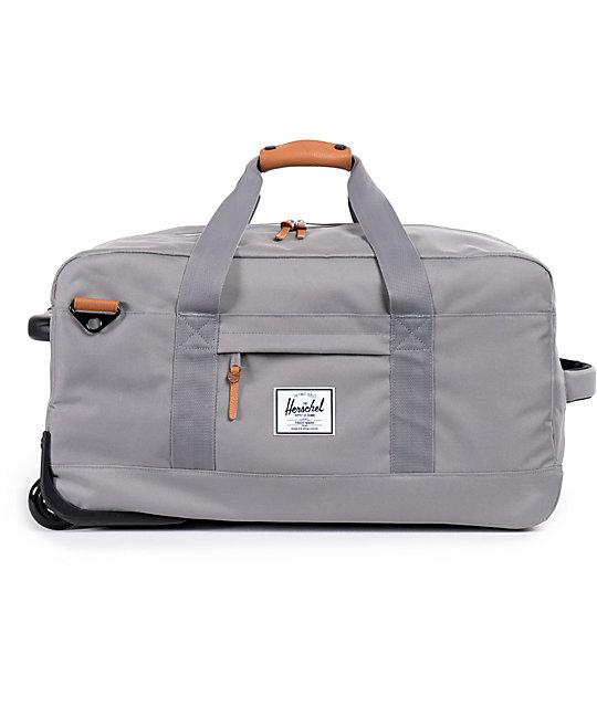 e5d7802d42 Herschel Supply Co. Wheelie Outfitter 56L Grey Roller Bag