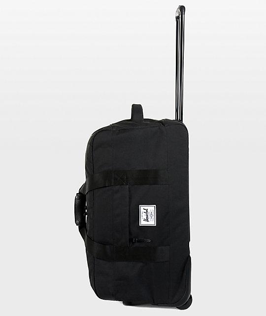 Wheelie Outfitter Black Roller Bag  Herschel Supply Co. Wheelie Outfitter  Black Roller Bag ... 0dde32e31e