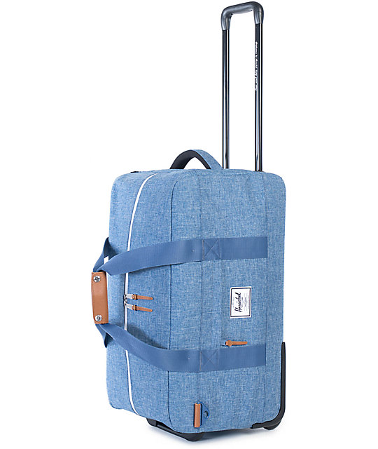 Herschel Supply Co. Wheelie Outfitter Limoges Crosshatch 81L Roller Bag