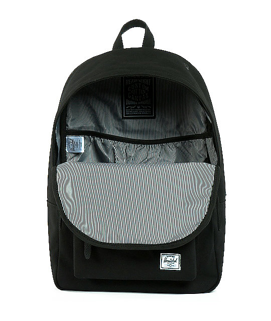 Herschel Supply Co. Woodlands Black Canvas Backpack