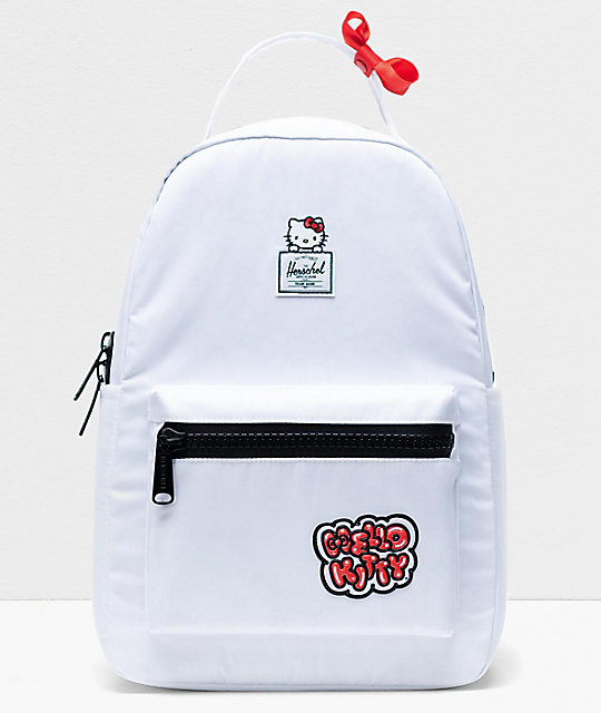 Herschel Supply Co. x Hello Kitty 45th Anniversary Nova Mid White Backpack