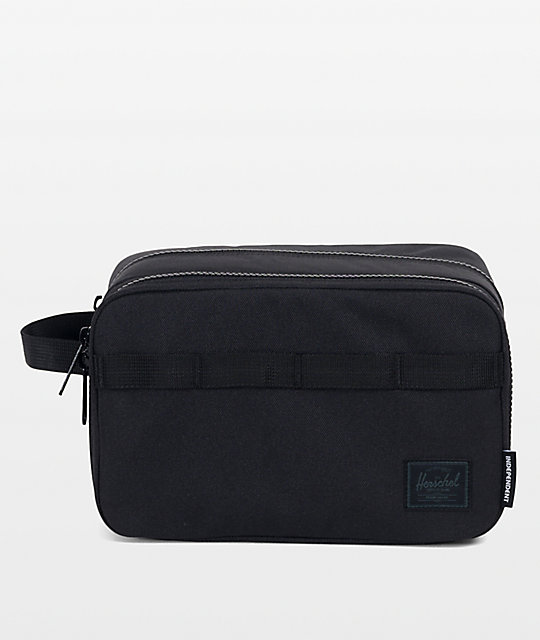 86bc0e41f731 Herschel Supply Co. x Independent Chapter Black Travel Kit
