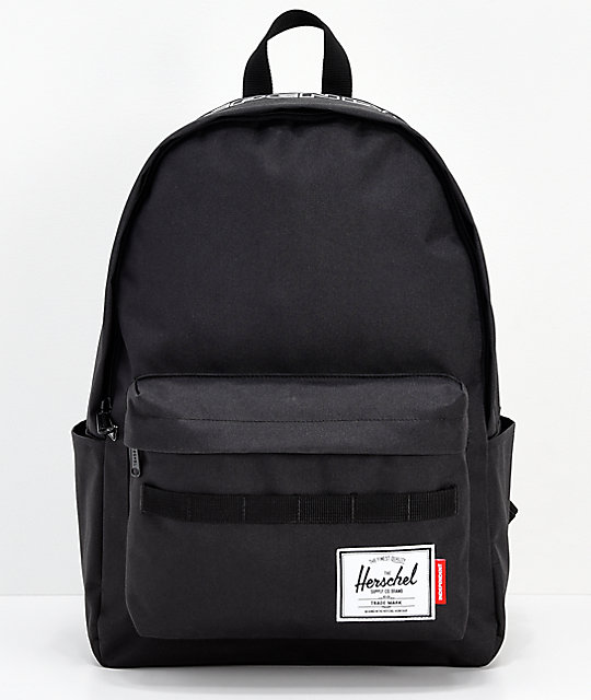 Herschel Supply Co. x Independent Classic XL Black Backapack