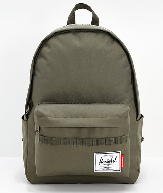247524307e Herschel Supply Co. x Independent Classic XL Ivy Green Backpack
