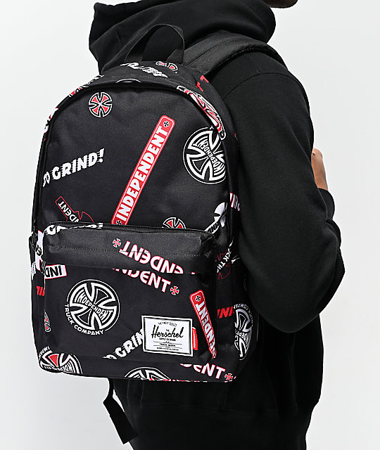 Herschel Supply Co. x Independent Classic XL mochila negra