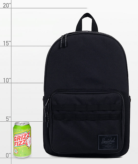 Herschel Supply Co. x Independent Pop Quiz 22L Black Backpack