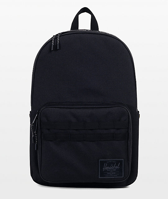 d6a31f255877 Herschel Supply Co. x Independent Pop Quiz 22L Black Backpack