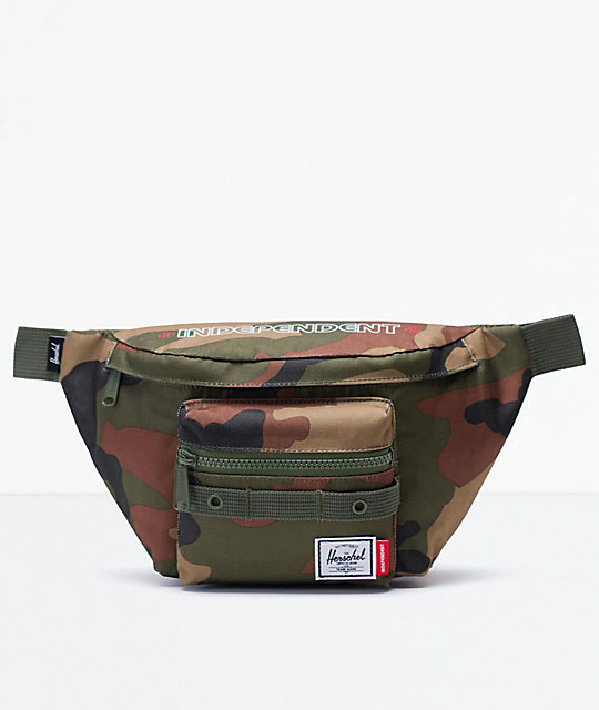 Herschel Supply Co. x Independent Seventeen Woodland riñonera