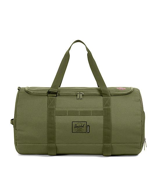 f84816454278 Herschel Supply Co. x Independent Sutton Ivy Green Duffle Bag