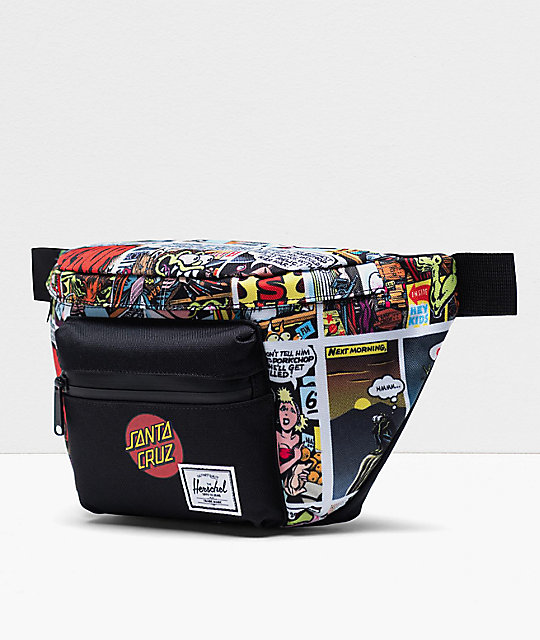 Herschel Supply Co. x Santa Cruz Seventeen Porkchop Hill Fanny Pack