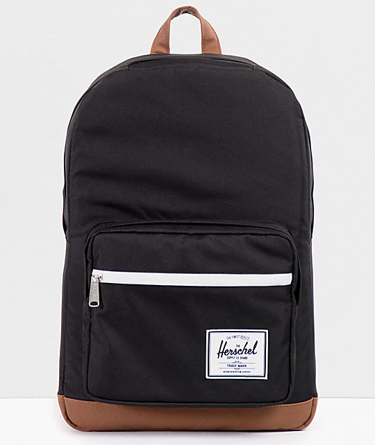 ae21a836e4 Herschel Supply Pop Quiz Black Backpack