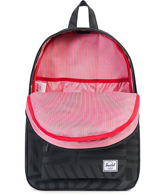 2d5fe43431c ... Herschel Supply Settlement Dazzle Camo Black 23L Backpack