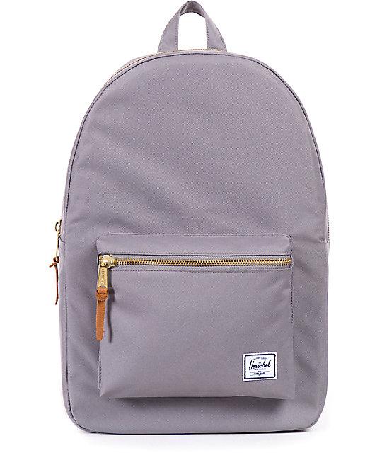 4c2fecdafa Herschel Supply Settlement Grey Mid-Volume 17L Backpack