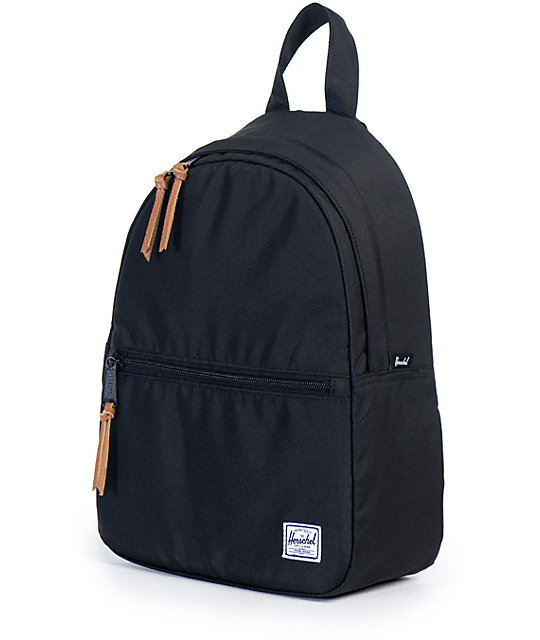 cda45e73a54 ... Herschel Supply Town Black 9L Mini Backpack ...
