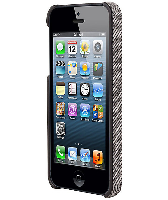 Hex Academy Core Grey Denim iPhone 5 Case