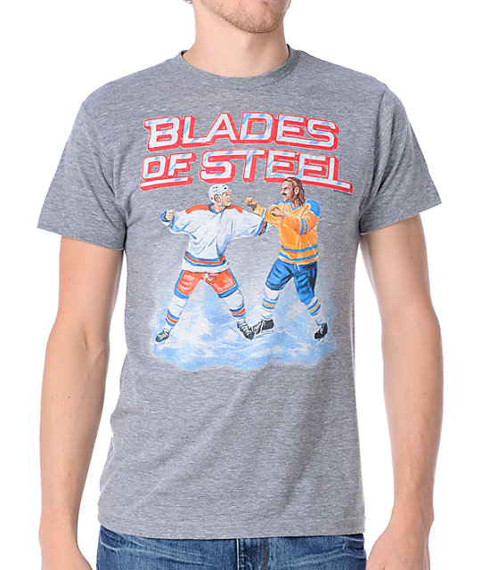 Homage Blades Of St-shirtl Heather Grey T-Shirt