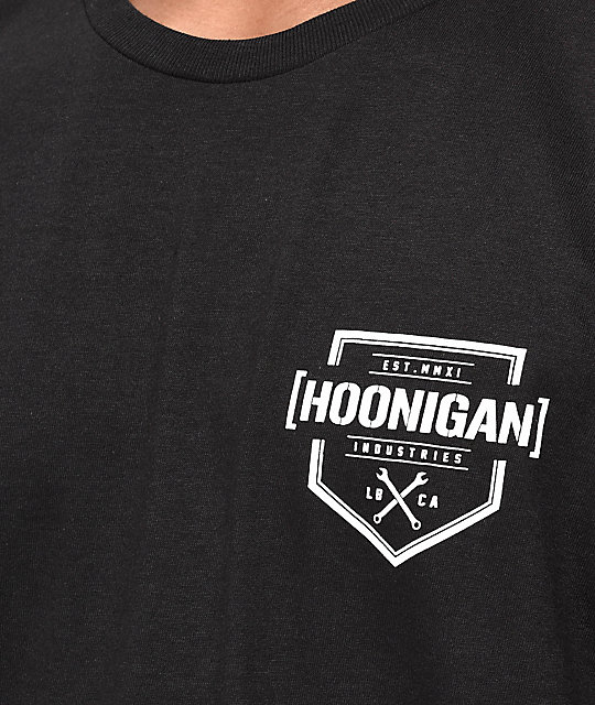Hoonigan Bracket X Black T-Shirt