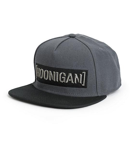 052481e5c Hoonigan Censor Bar Snapback Hat