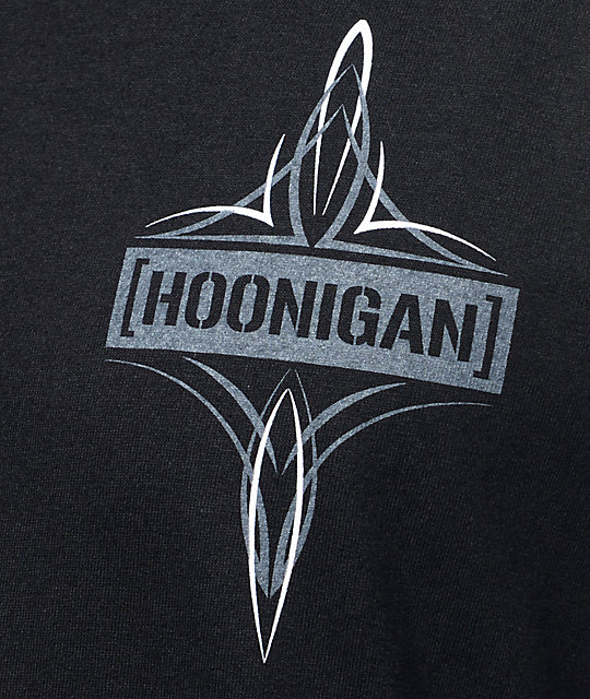 Hoonigan Death Trap Black T-Shirt