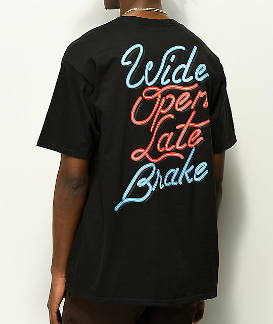 Hoonigan Late Brake camiseta negra