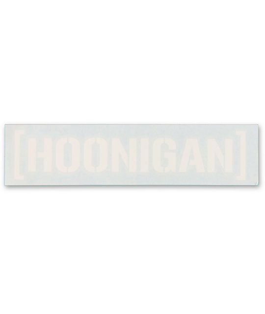 Hoonigan Small Die-Cut Sticker