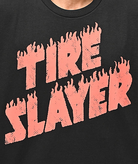 Hoonigan Tire Slayer Black T-Shirt