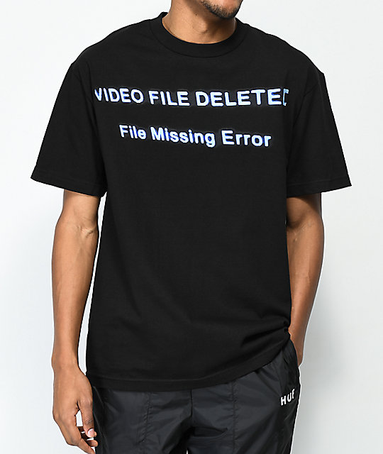 Host Error CTRL+ALT+DELETE Black T-Shirt