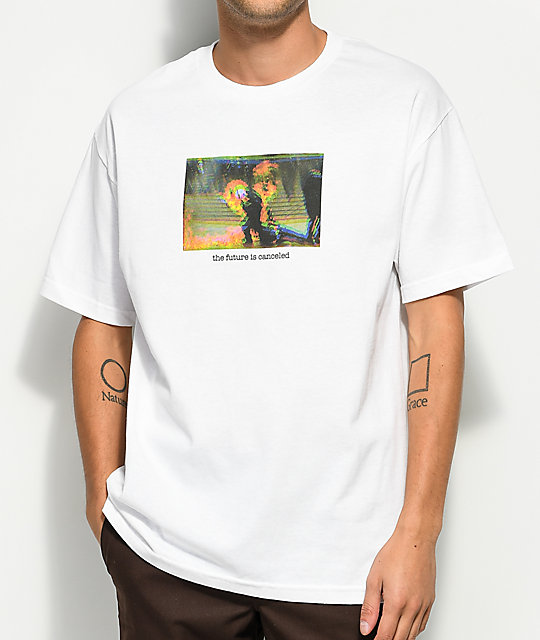 Discount Host Error They Don't Love Us White T-Shirt
