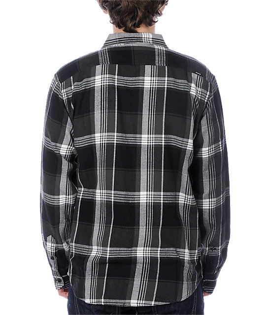 Hurley Eighty Sixed Black Woven Shirt