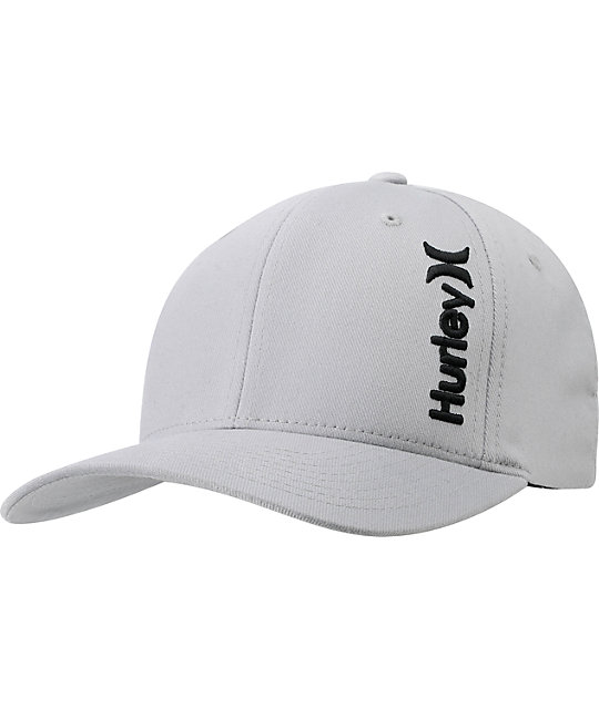 Hurley Incorporate Flexfit Grey Hat