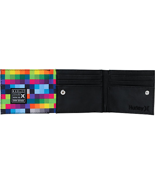 Hurley Kings Road Double Bifold Wallet
