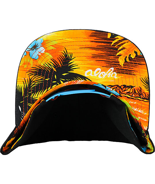 Hurley Krush Black Snapback Hat