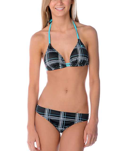 Hurley One & Only Plaid Hipster